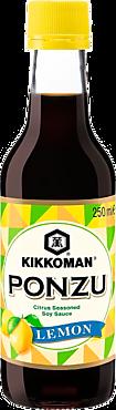 Цитрусо-соевый соус «KIKKOMAN» Понзу Лимон, 250мл