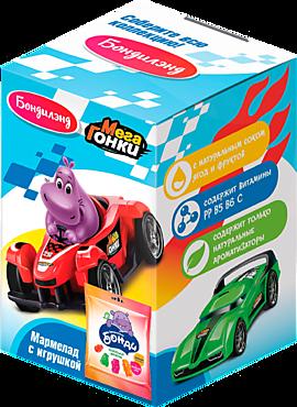Мармелад с игрушкой «Бондиленд» серия «МегаГонки», 10г
