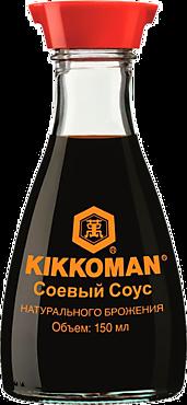 Соус соевый «KIKKOMAN» с диспенсером, 150мл