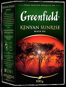 Чай черный «Greenfield» Kenyan Sunrise, 100г