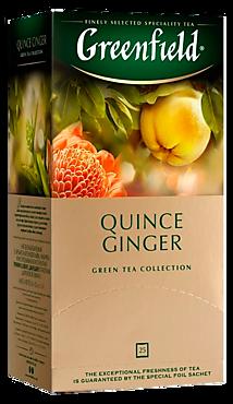 Чай зеленый «Greenfield» Quince Ginger, 25 пакетиков