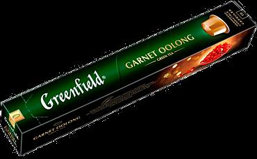 Чай зеленый «Greenfield» Garnet Oolong, 10 капсул