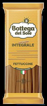 Макаронные изделия «Bottega del Sole» Фетучини, цельнозерновые, 500г