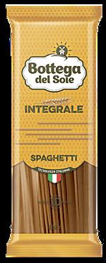 Макаронные изделия «Bottega del Sole» Спагетти, цельнозерновые, 500г