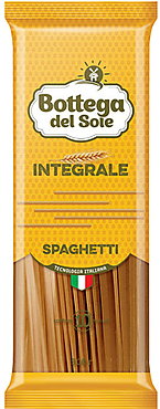 Макаронные изделия «Спагетти», цельнозерновые «Bottega del Sole», 500г