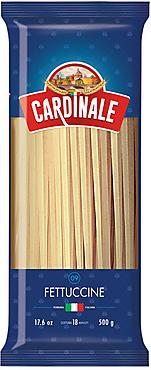 «Cardinale», макаронные изделия «Фетучини», 500г