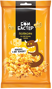 «Бомбастер», попкорн со вкусом сыра, 80г