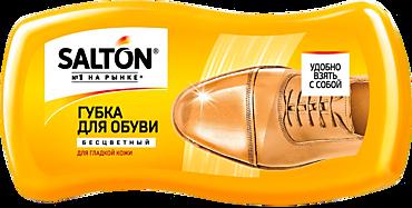 Губка «Salton» для обуви из гладкой кожи, бесцветная