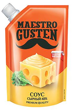 «Maestro Gusten», соус «Сырный», 196г