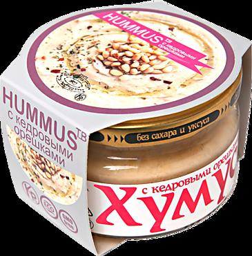 Хумус «Тайны востока» с кедровыми орешками, 160г