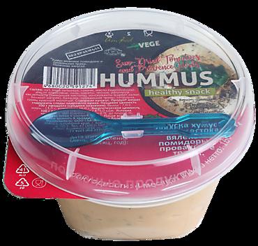 Хумус «Тайны востока» Вяленые помидоры и прованские травы, 160г