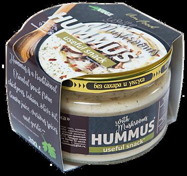 Хумус «Полезные продукты» с грибами, 200г