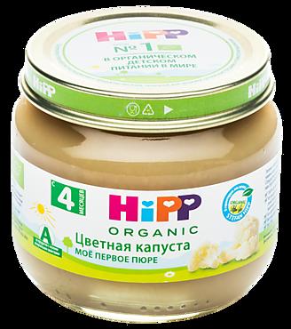 Овощное пюре «HIPP» Цветная капуста, 80г