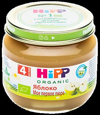 Фруктовое пюре «HIPP» Яблоко, 80г