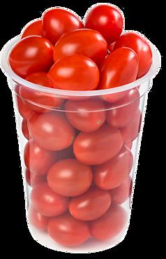 Томаты Черри сливовидные красные, 250г