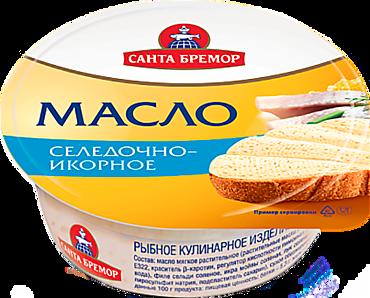 Масло икорно-селедочное «Санта Бремор», 100г