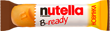Вафельный батончик «Nutella» B-ready, 22г