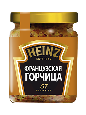 Горчица «Heinz» Французская, 180г