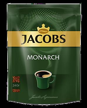Кофе «Jacobs Monarсh» растворимый, 240г
