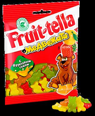 Мармелад жевательный «Fruittella» Медвежата, 70г