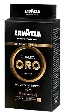 Кофе «Lavazza» Qualità Oro Mountain Grown, молотый, 250г