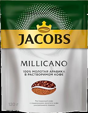 Кофе «Jacobs Monarсh» Millicano, молотый в растворимом, 120г