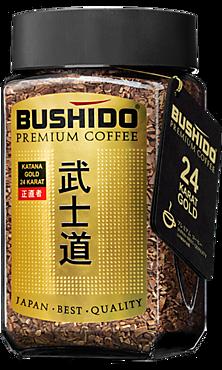 Кофе растворимый «Bushido» Katana Gold, 100г