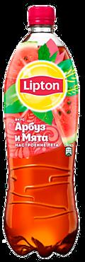Черный чай «Lipton» со вкусом арбуза и мяты, 1л