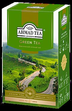 Чай зеленый «Ahmad Tea», 100г