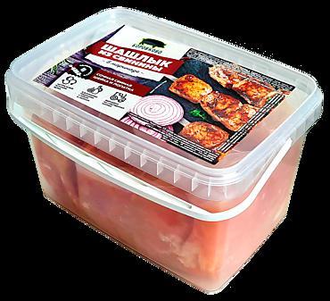 Шашлык из свинины в маринаде «Боровково», 1,4кг