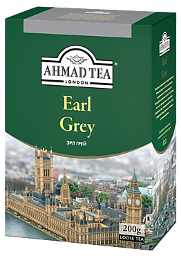 Чай черный «Ahmad Tea» с бергамотом, 200г