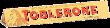 Шоколад молочный «Toblerone» с медово-миндальной начинкой, 100г