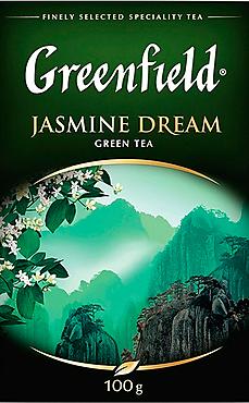 Чай зеленый «Greenfield» Jasmine Dream, 100г