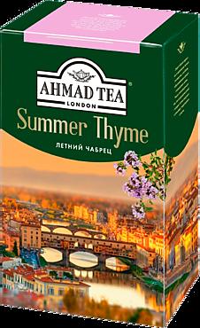 Чай черный «Ahmad Tea» Летний Чабрец, 100г