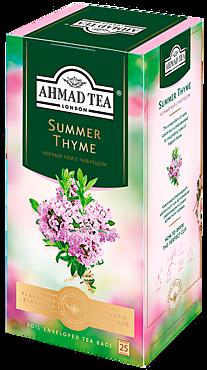 Чай черный «Ahmad Tea» Летний Чабрец, 25 пакетиков