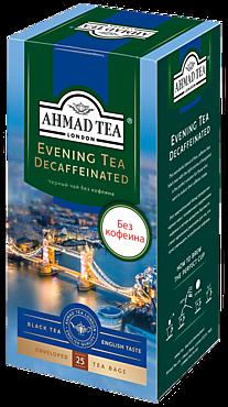 Чай черный «Ahmad Tea» Вечерний, с бергамотом, 25 пакетиков
