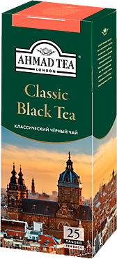 Чай черный «Ahmad Tea» Классический, 25 пакетиков