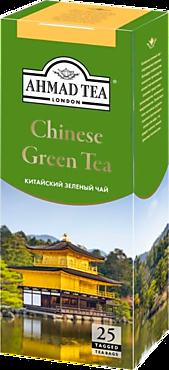 Чай зеленый «Ahmad Tea» Китайский, 25 пакетиков