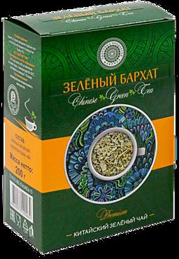Чай зеленый «Фабрика здоровых продуктов» Зеленый бархат, 200г