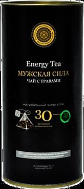 Чай черный «Фабрика здоровых продуктов» Мужская сила, 30 пирамидок