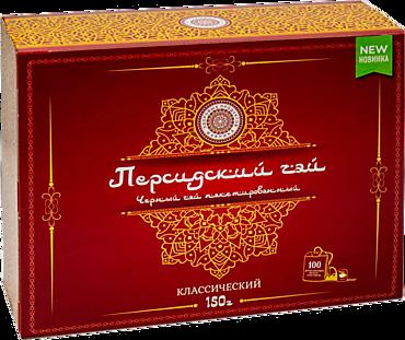 Чай черный «Фабрика здоровых продуктов» Персидский Классический, 100 пакетиков
