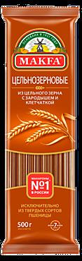 Макароны «Makfa» Спагетти, цельнозерновые, 500г