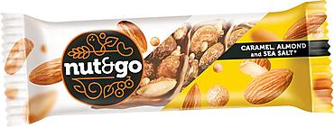 Батончик Nut and Go миндальный, 34г