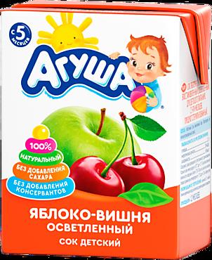 Сок «Агуша» Яблоко -Вишня, 200мл