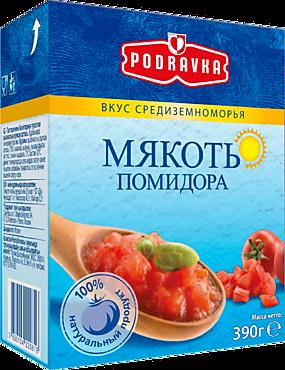 Мякоть помидора «Podravka», 390г