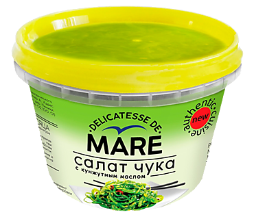 Салат «MARE» Чука в уксусно-масляной заливке, 250г