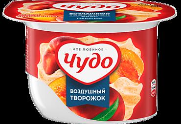 Творожный десерт 5.8% «Чудо» со вкусом персика, 85г