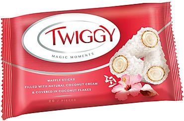 Конфеты Twiggy с кокосом, 185г