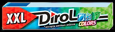 Жевательная резинка «Dirol Colors» XXL, ассорти мятных вкусов, 19г