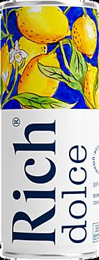 Сокосодержащий напиток «Rich» Виноград и лимон, 330мл